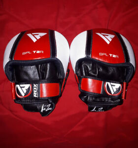 RDX T2 leather smartie focus mitts
