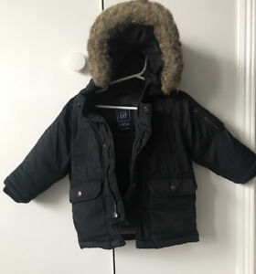 GAP down winter jacket & snowpants - toddler