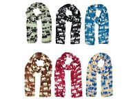 Brand New Elephant Scarf-6 colours
