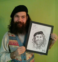 CARICATURES - Fun For CORPORATE & PRIVATE Parties - 204 962 2222