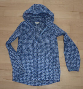 Lands End packable rain coat, excell. condition, size 10-12years