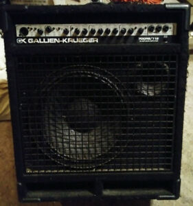 Gallien Kruger 700rb bass combo