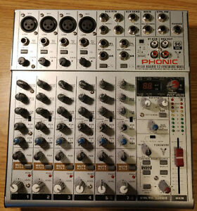 Interface console Phonic