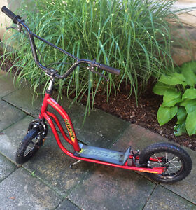 Red Huffy Scooter