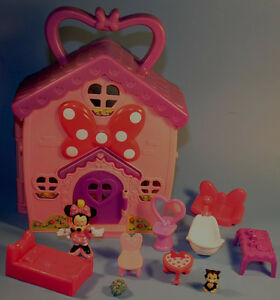 Disney Fisher Price MINNIE MOUSE Daisy Duck Limosine House