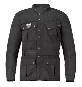 Triumph Barbour Quilted motorcycle Jacket XS Black