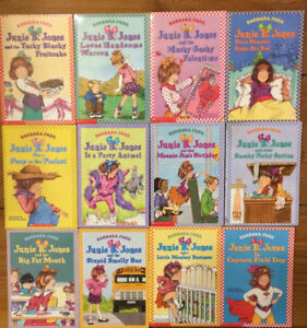 JUNIE B JONES Chapter Books 12 for $15