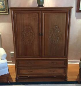 Estate Sale - Beautiful Rosewood TV/Armior