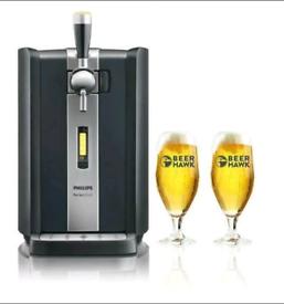 Phillips Perfect Draft Machine+ Glassware **Brand new**