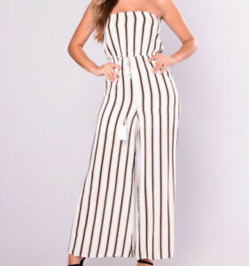 Brand New Striped Jumpsuit