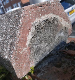 WANTED 2 x reclaimed 150mm high coping stones as on pic