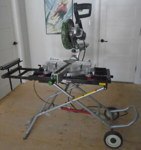 "12"" Double Bevel Sliding Compound Mitre Saw with Stand"