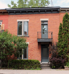 Lovely furnished house for rent in Plateau Mont-Royal, Montreal