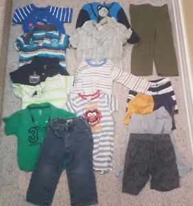 9-12 months boy clothes (over 50 pieces)