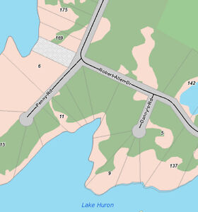 Northern Bruce Waterfront Lots