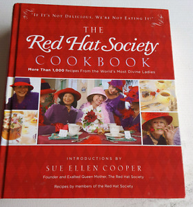 Red Hat Society Cookbook EUC $10
