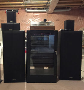 SELLING Panasonic Technics Stereo Sound System and Speakers