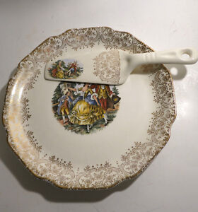 6 Plates Serving Platters European Dishes Floral Christmas Kitchener / Waterloo Kitchener Area image 4