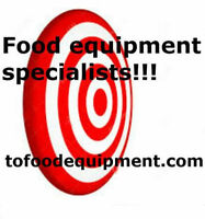 We buy & sell good new & used food equipment