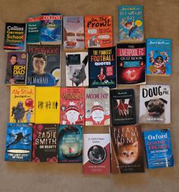Big mix of books