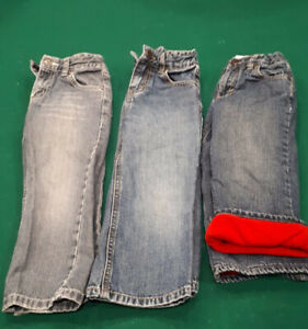 Boys jeans 3 pairs, size 3T Gymboree & Old Navy