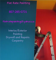 Flat Rate Painting/Carpentry/Drywall 30+yrs
