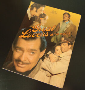 Great Lovers of the Movies Vintage 1975 Book w/ Dustjacket