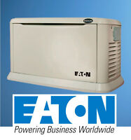 Eaton Home Standby Generator 20kW with Cold Weather Kit