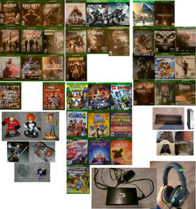 XBOX One Games and Accessories (Various Prices)
