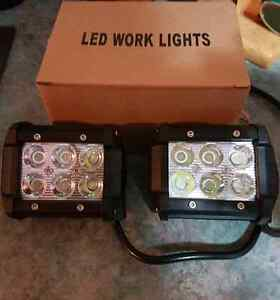 4 inch Square LED Work Lights