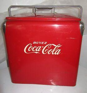 Vintage 1950's Coca Cola Cooler