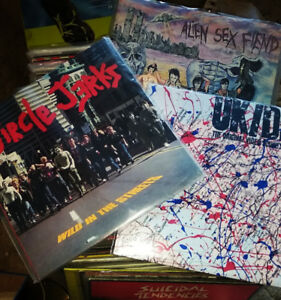 JUST IN! MINT PUNK ALBUMS!  RED BARN IN BRAMPTON!