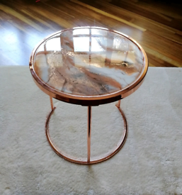 Gold Epoxy Coffee/Side Table