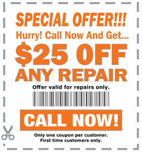 Appliance Repair - $50 Service Call FREE with Repairs