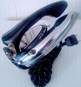 Vintage GENERAL ELECTRIC Clothes IRON CHROME Antique