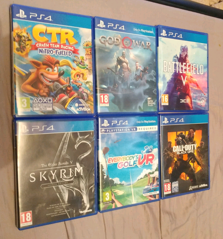 6 ps4 games bundle | in Acton, London | Gumtree