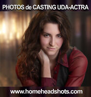 Photos de casting UDA ACTRA / Studio mobile