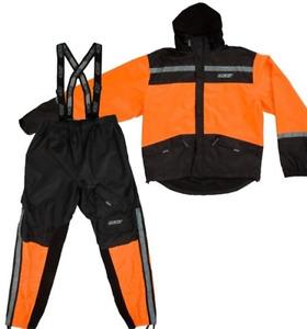Habit de pluis GKS  orange et noir