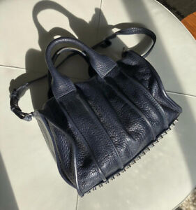 Selling: Alexander Wang Rocco Bag - Patent Blue / Black