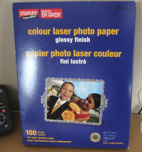 Papier photo imprimante laser ink paper ink encre