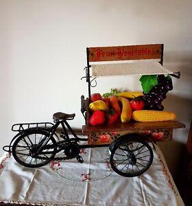 miniture Italian fruit cart