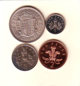 Great Britain Proof Coins