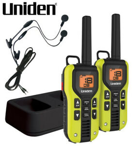 NEW UNIDEN TWO WAY RADIO WITH RECHARGEABLE BATTERIES