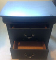 Solid wood Night stand - from the Brick
