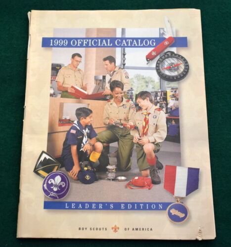 BOY SCOUT - 1999 OFFICIAL CATALOG - LEADER EDITION    *