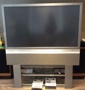 """RCA HDTV 65"""" with stand - USED"""
