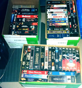 323 VHS Movies for sale in Great Condition
