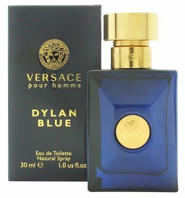 VERSACE POUR HOMME DYLAN BLUE 30ML EAU DE TOILETTE BRAND NEW & SEALED