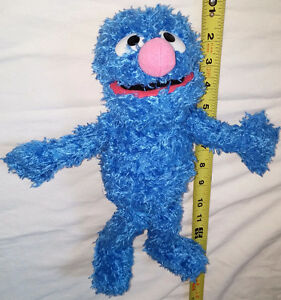 Plush Grover from Sesame Street