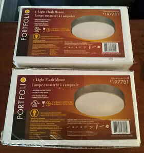 Lighting-Brand New, Still in Boxes 2 for $15 PRICED TO SELL